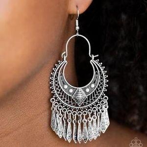 Walk On The Wildside - Silver Earrings